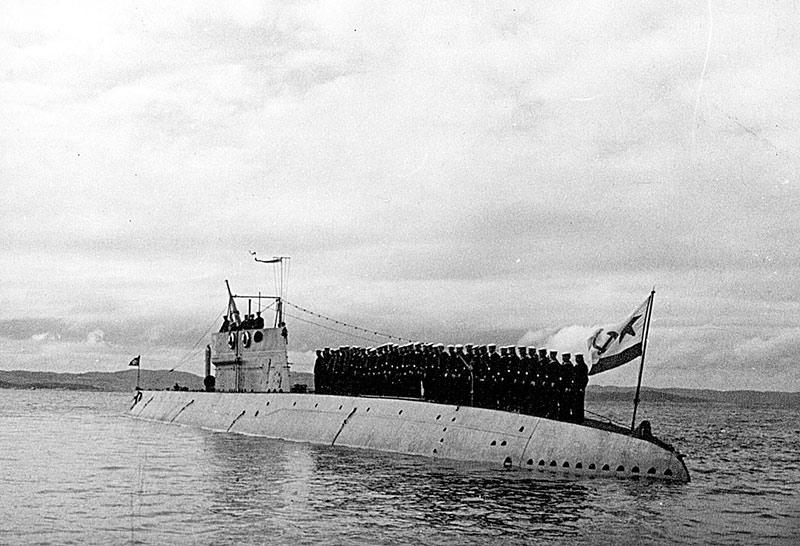 Подводная лодка Балтийского флота Д-2 Народоволец