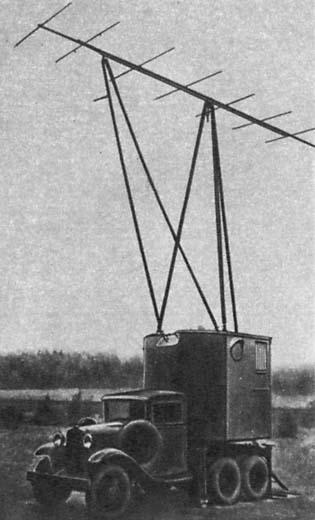 """Мобильная радиолокационная станции РУС-2 """"Редут"""" дальнего обнаружения"""