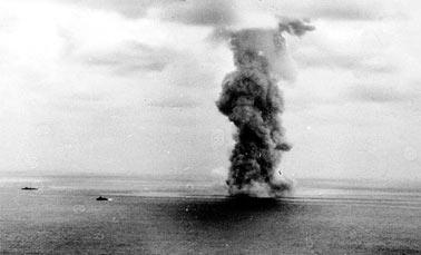 Взрыв боезапаса линкора Ямато