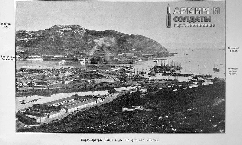 русско-японская война, Внешний вид Порт-Артура, начало 20 века