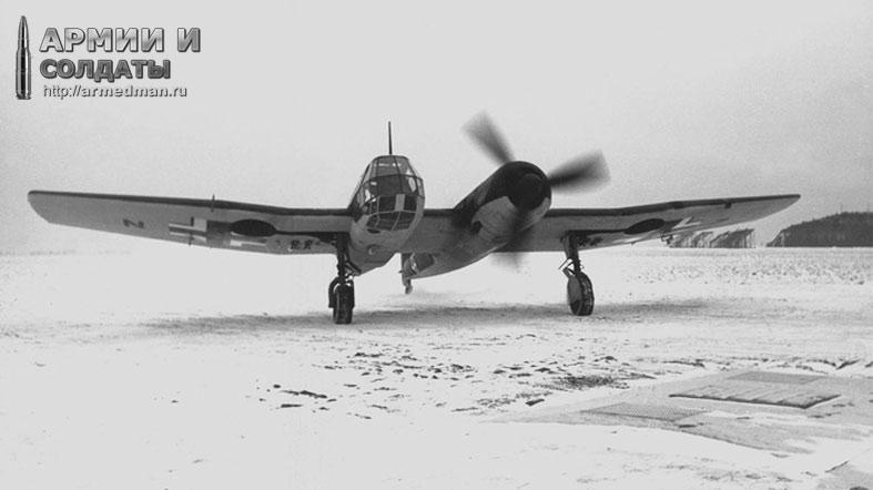 Немецкий Самолет-разведчик Bv-141
