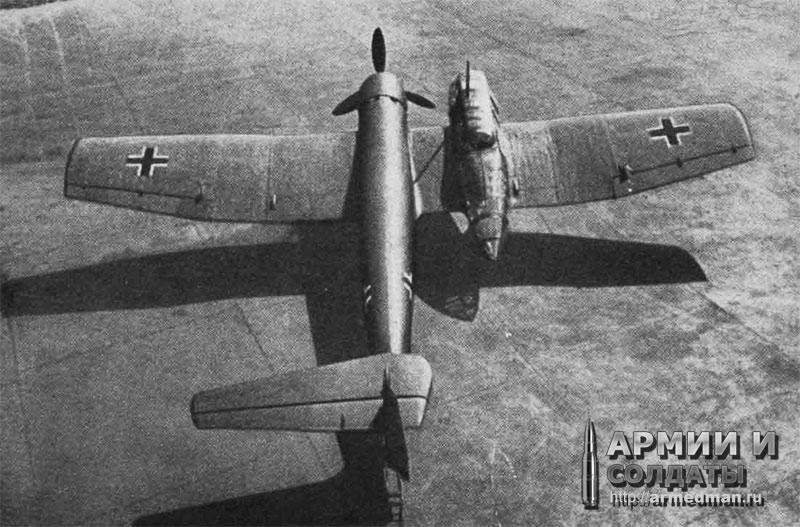Самолет-разведчик Bv-141 (Германия)