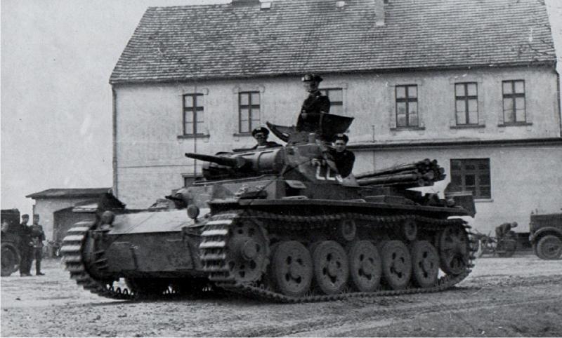 танк Pz III Ausf А