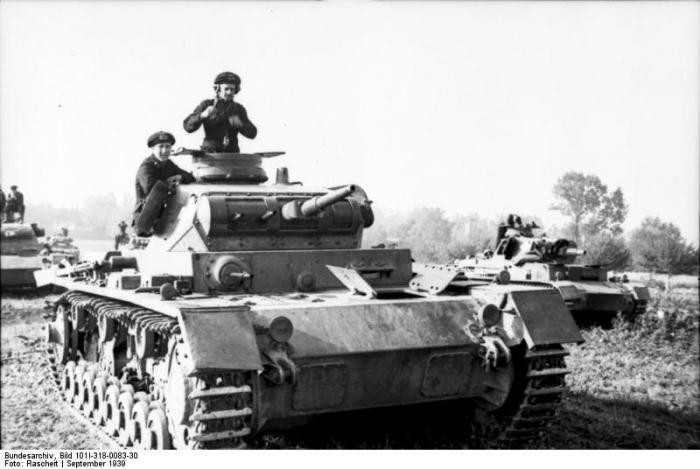 танк Pz III Ausf B