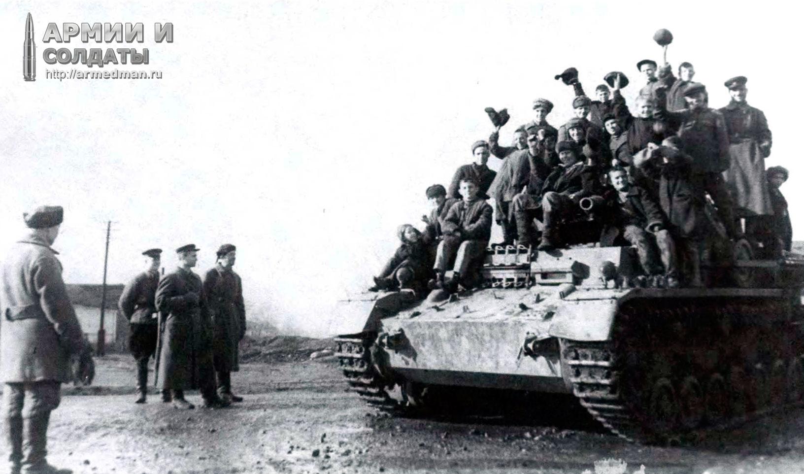 Pz-IV-Aust-F1-на-службе-в-Красной-Армии,-Северокавказский-фронт,-151-танковая-бригада,-весна-1943-(2)