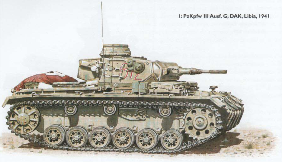 PzKpfw III Ausf G