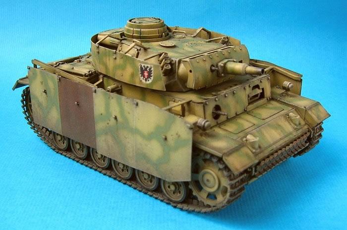Танк PzKpfw III Ausf N