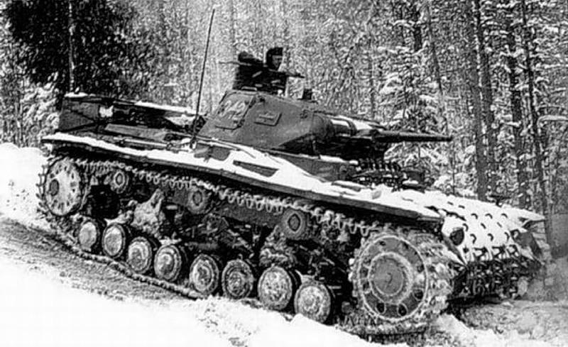 танк PzKpfw III С
