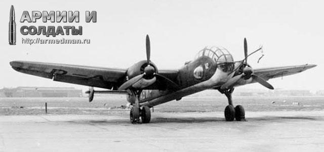 Бомбардировщик Ju-288 (Германия)