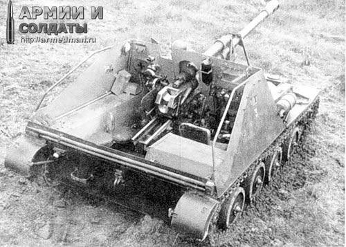 ОСА-76, вид сзади.