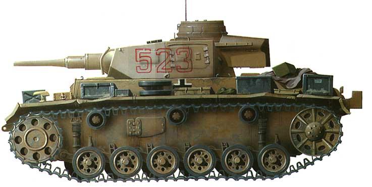 Pz III - немецкий танк второй мировой войны