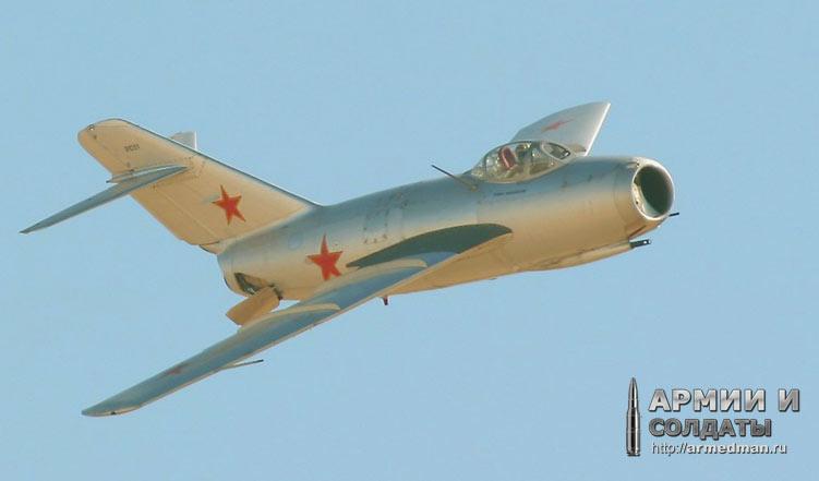 Первое поколение истребителей: МиГ-15 и F-86