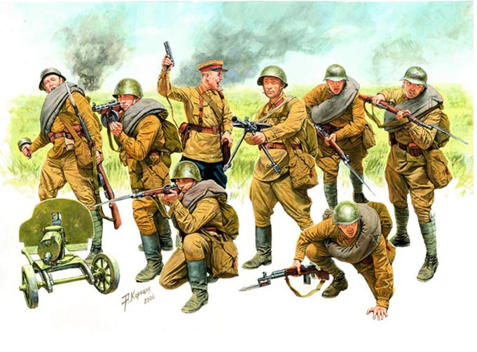 Советская армия перед - и в первые годы Великой Отечественной