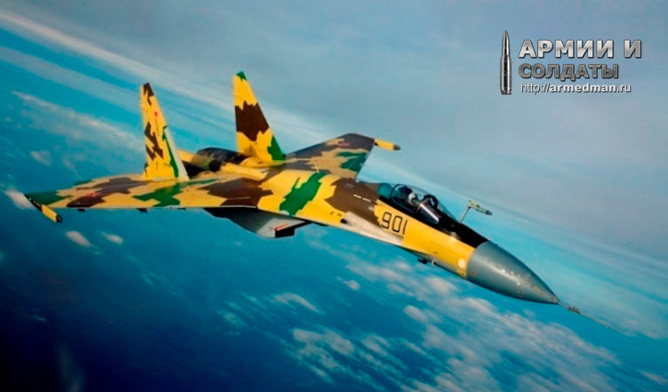 """Су-35 - истребитель поколения """"4,5"""""""