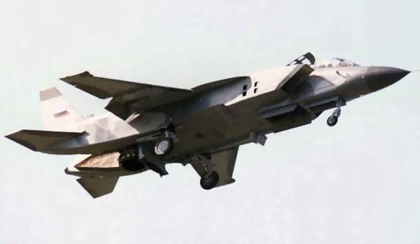 Як-141 в воздухе