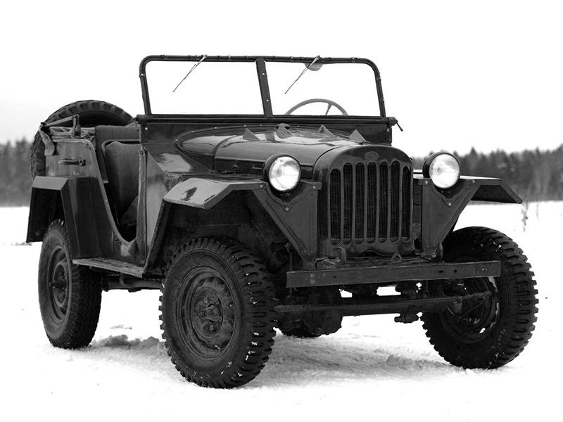 Армейский автомобиль газ-67