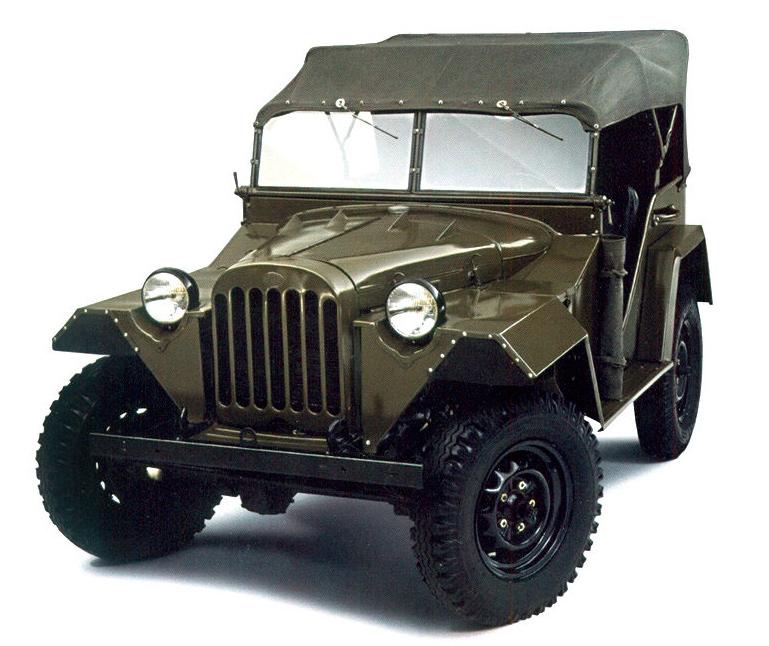 Командирский автомобиль ГАЗ-64 (ГАЗ-67)