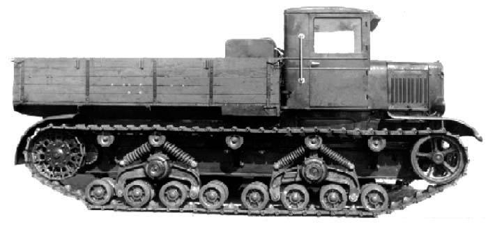 "Трактор-тягач С-2 ""Сталинец-2"""