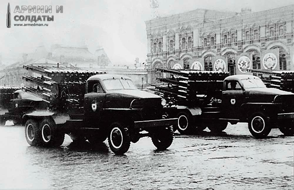 """Техника по лендлизу - БМ-13 """"Катюша"""" на шасси US 6 """"Studebаker"""""""