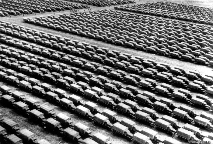 Студебекеры - грузовики поставленные по лендлизу