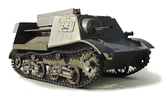 Легкий артиллерийский тягач Т-20 «Комсомолец»