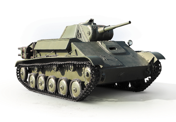 Советский легкий танк Т-70 (ГАЗ-70)