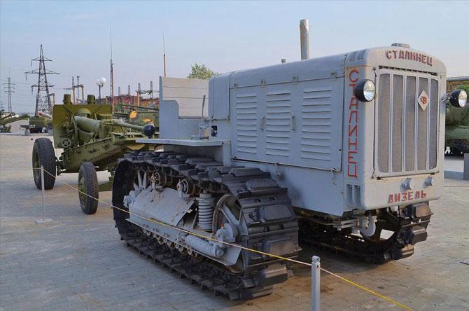 Мирный трактор С-65