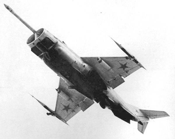 Як-36 на взлете (или посадке)