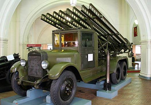"""""""Катюша"""" БМ-13 на базе ЗИС-6"""