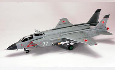 Перехватчик с вертикальным взлетом Як-141