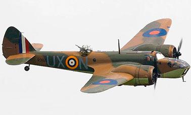 Легкий бомбардировщик «Бленхейм» Mk-IV (Великобритания)