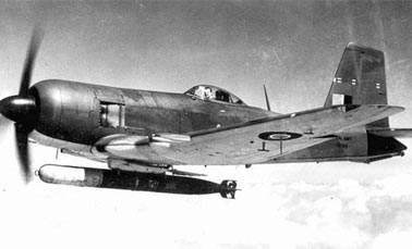 Истребитель-торпедоносец Firebrand F.Mk-I