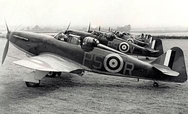 Истребитель Boulton Paul Defiant (Дефиант) (Великобритания)