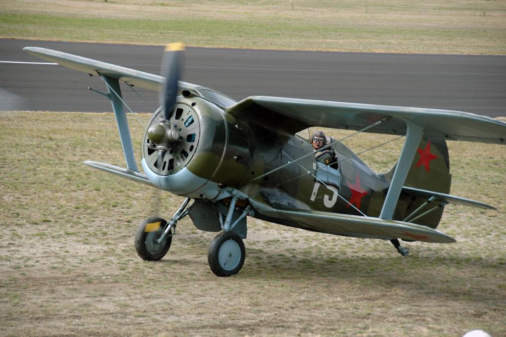 Восстановленный истребитель И-153 «Чайка»
