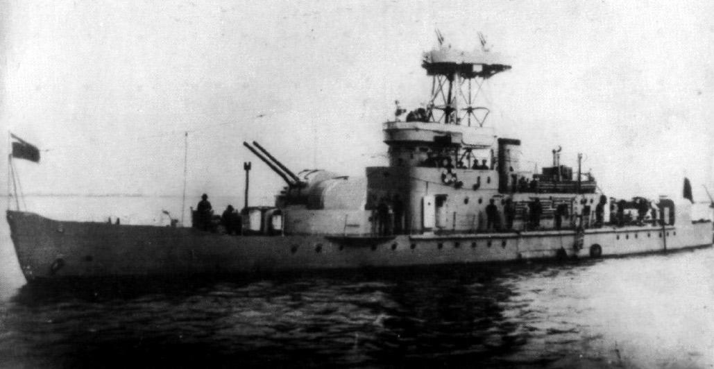 "Японская канонерская лодка ""Шун-Тинь"""