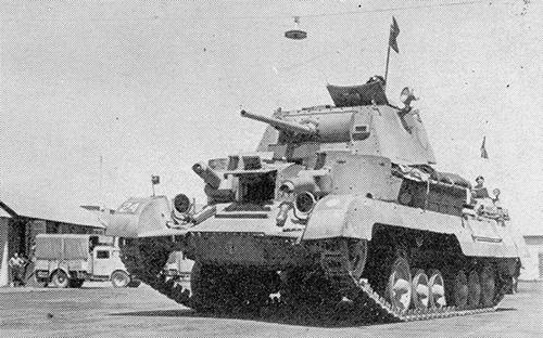 Крейсерский танк Mark I (A9) (2)