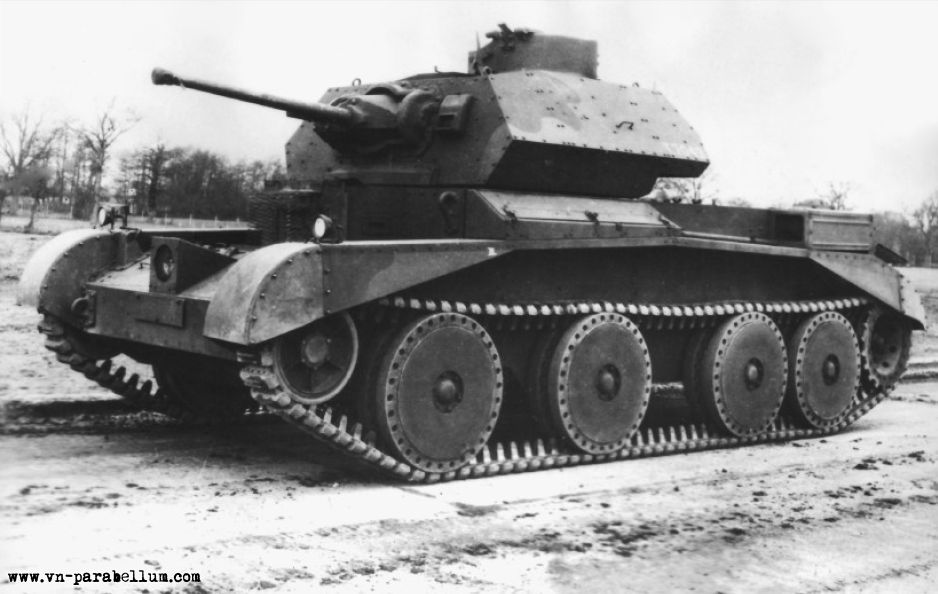 Крейсерский танк Mark III (A13)