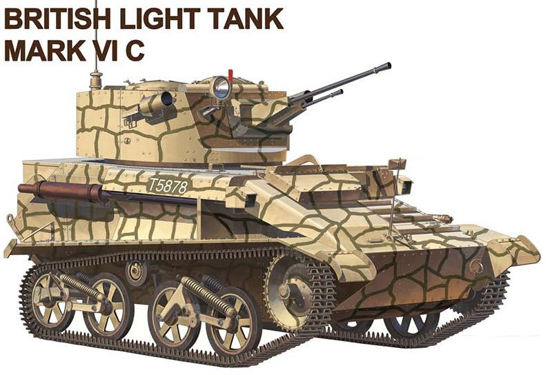 Легкий танк Mk-VI серии C