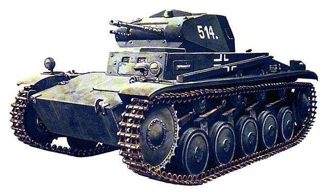 танки вермахта второй мировой войны