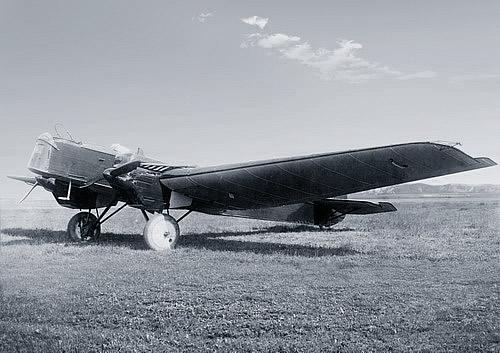 Р-6 (АНТ-7) перед взлетом. От ТБ-3 и ТБ-1 сравнительно легко отличить по упрощенному внешнему виду