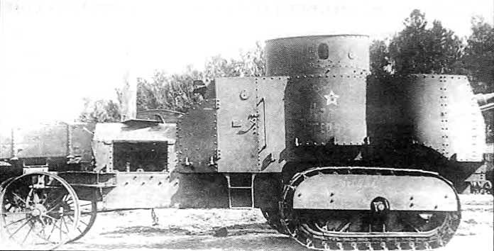 бронетрактор гулькевича, Ахтырец (Красный Петербург)