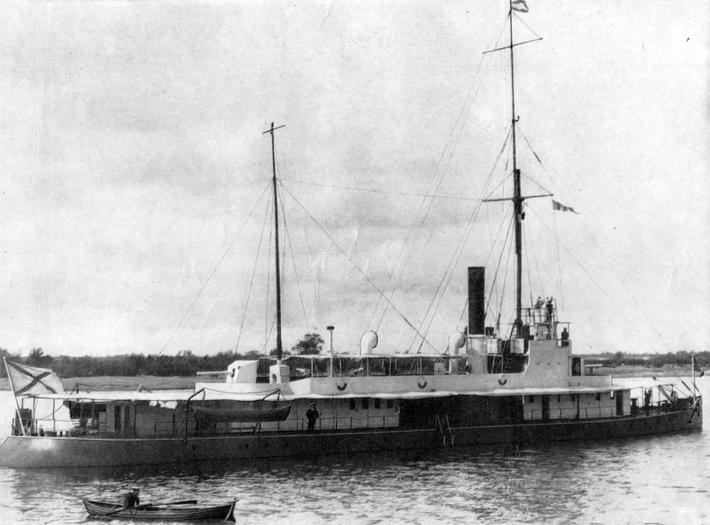 Амурская флотилия, канонерская лодка Бурят