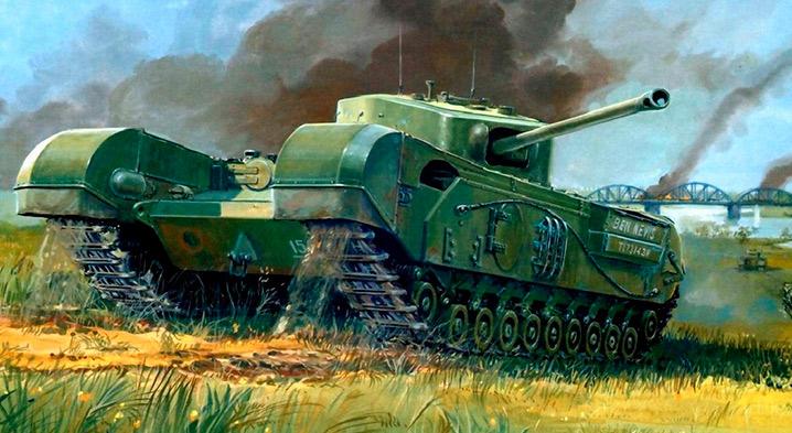 Английский пехотный танк Mark IV «Черчиль» (А22)
