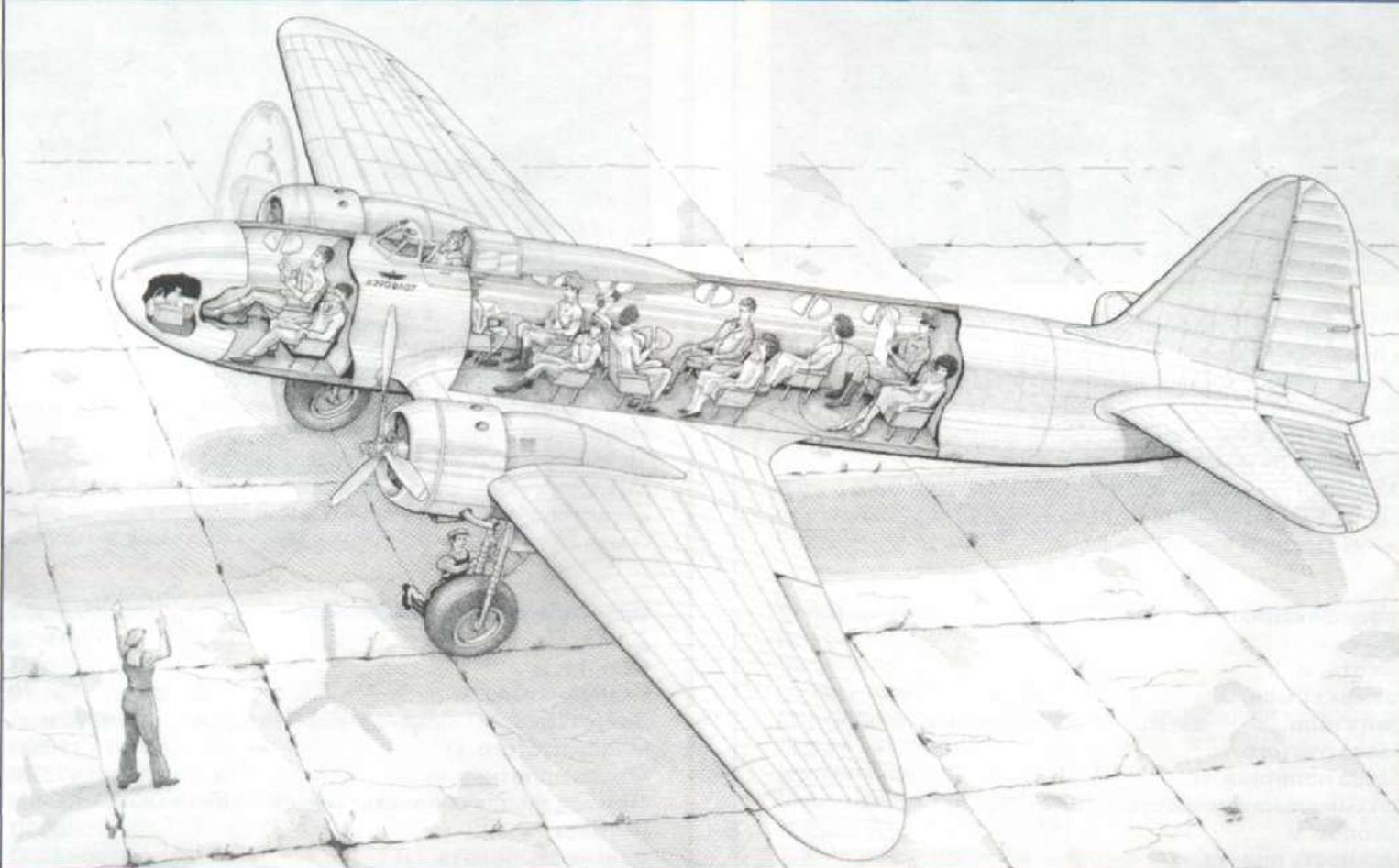 вариант пассажирского ДБ-3