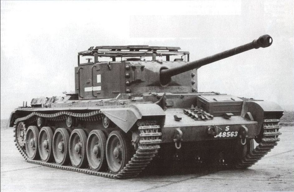 "Британский крейсерский танк A30 ""Авенджер"""