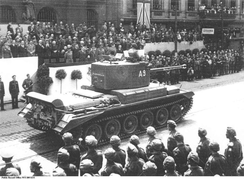 "Британский крейсерский танк A30 ""Челленджер"""