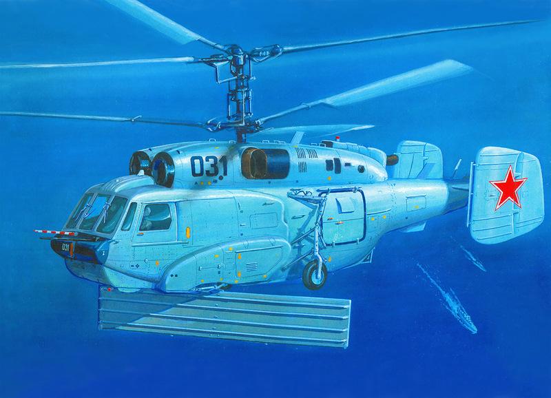 Вертолет корабельного базирования Ka-31
