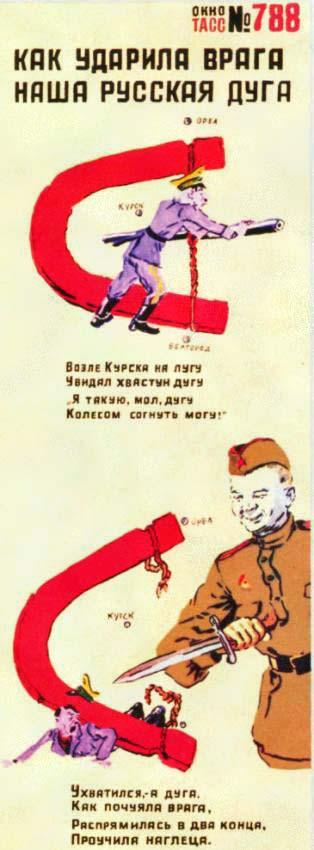 Как ударила врага нашу русская дуга