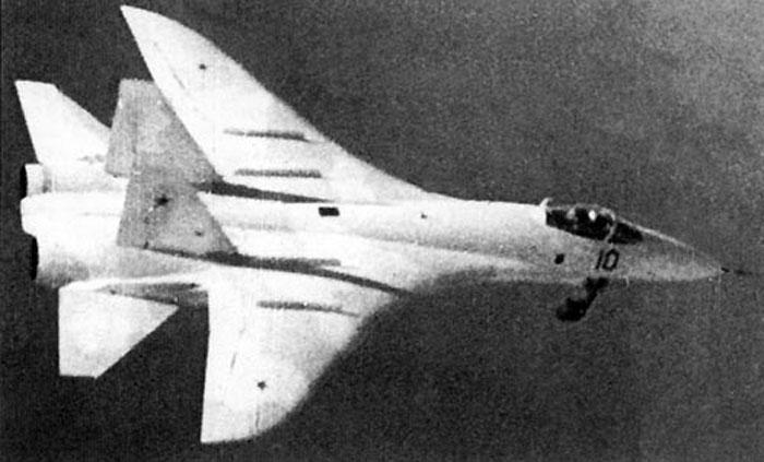 """Т-10-1 - прототип Су-27. """"совсем другой самолет"""""""