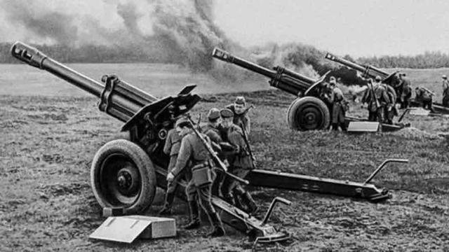 артиллерийская батарея